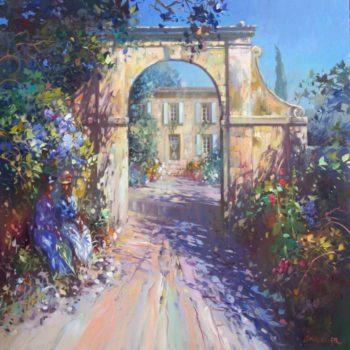 laurent parcelier artiste peinture toile