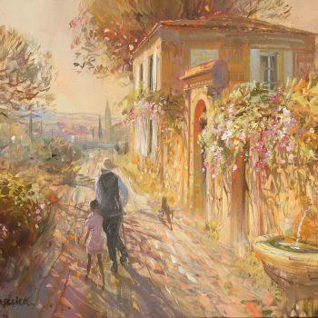 laurent parcelier artiste peinture toile impressionnisme-peinture figurative