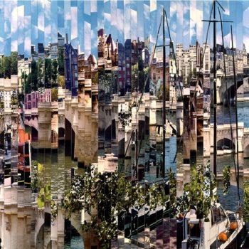Serge-Mendjisky-Paris-Pont-Neuf-monotype