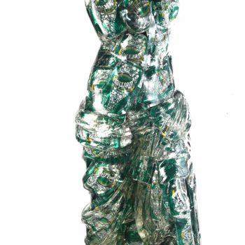 alben-sculpture-venus-de-milo-perrier-inclusion-résine