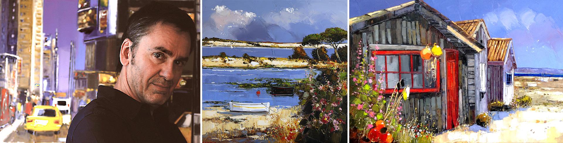 Artiste Peintre St Tropez fabien novarino artiste peintre contemporain - galerie saint