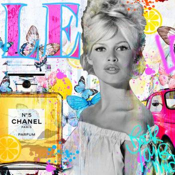 Brigitte-Bardot-Fabien-Novarino-tableau-pop-art-BB