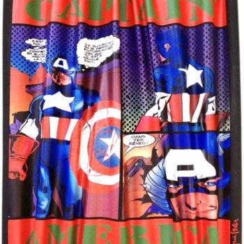 Gnidzaz-jean-michel-captain-America-peinture