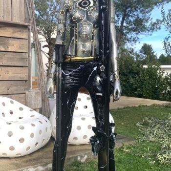 david-cintract-artiste-pop-libre-mannequin-ski-sculpture-pop-art