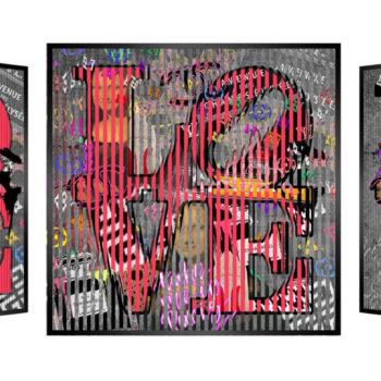 Patrick Rubinstein-kinetic-pop-art-love