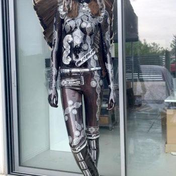 david-cintract-toile-pop-art-sculpture-mannequin-pop-libre