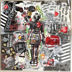 david-cintract-toile-pop-art-sculpture-pop-libre