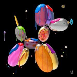 Boutet-studio-artiste-art-digital-balloon-dog