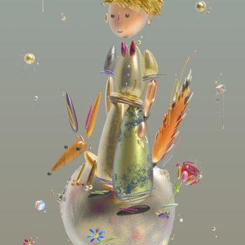 boutet-Petit-Prince-tableau digitale