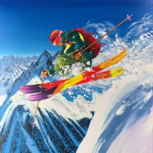 Steve-Tracy-peinture-ski-snow-alpes