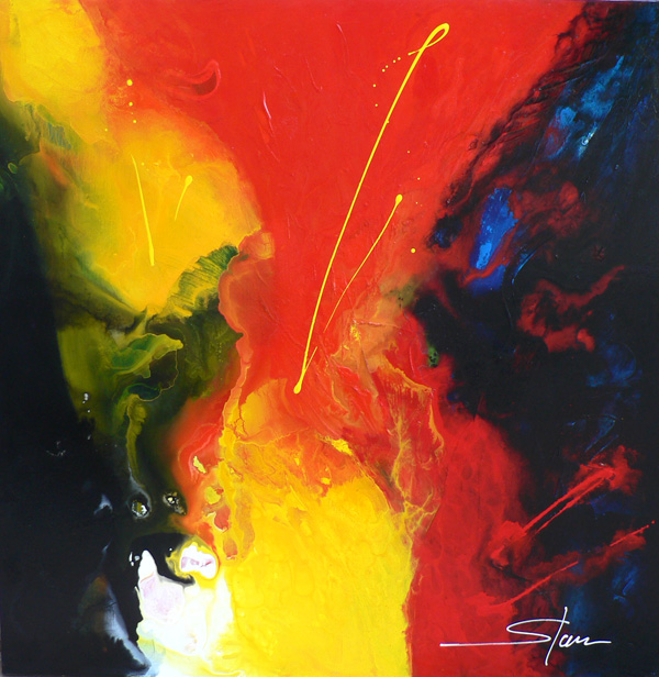 stam-artiste-technique-mixte-abstraction-toile