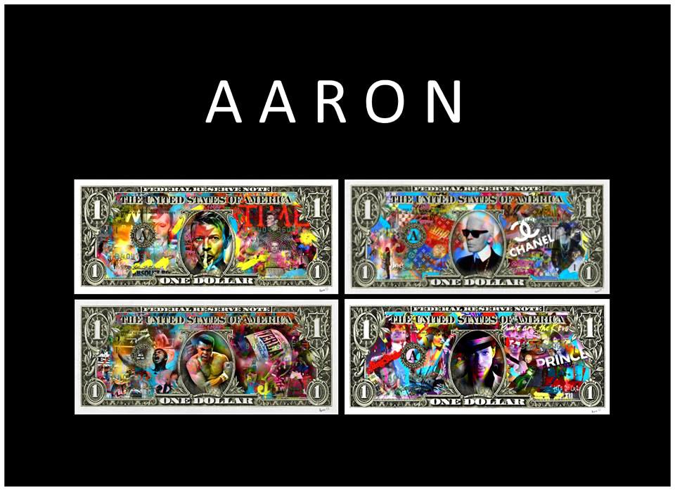 "alt=""aaron-artiste-icone-dollar-basquiat-sculpture-lagerfeld-bowie-prince-mohamed-ali.""."