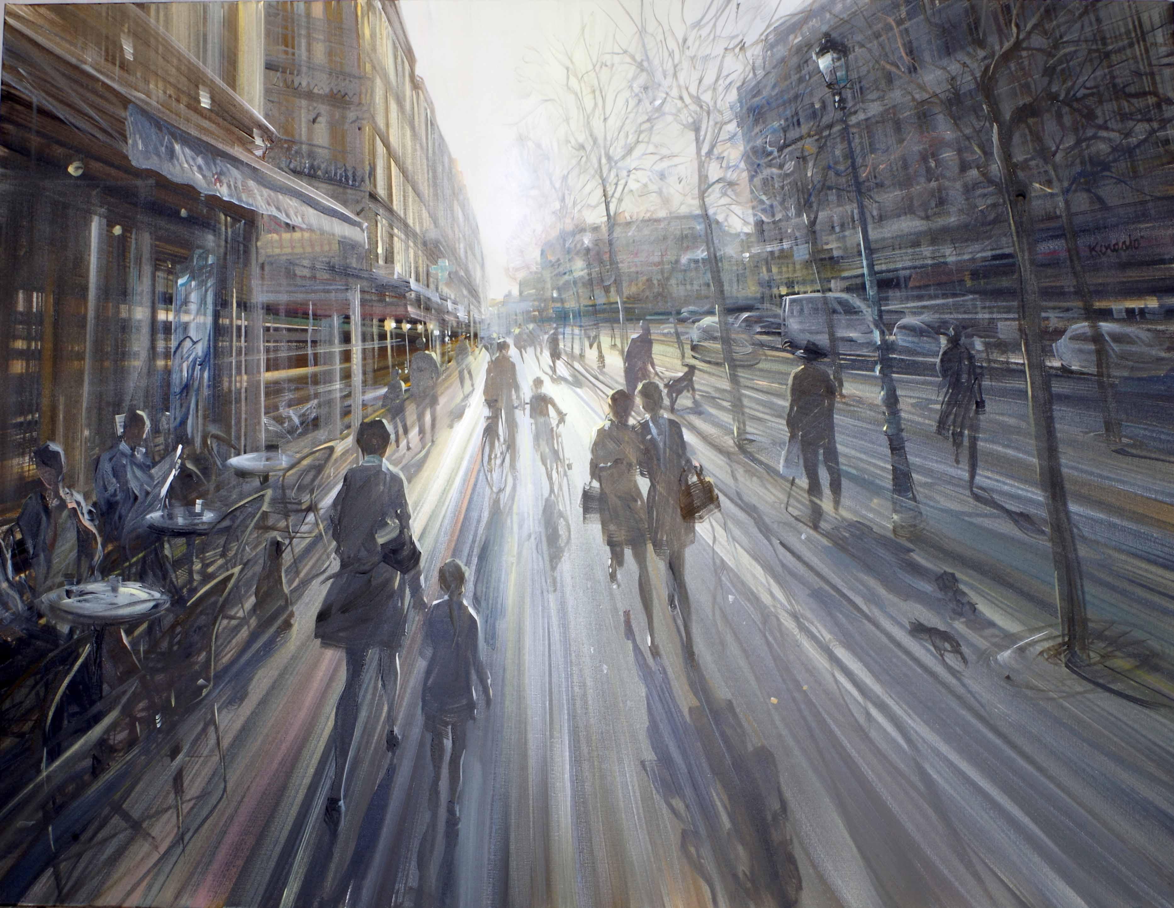 kerdalo artiste peinture paris 4eme