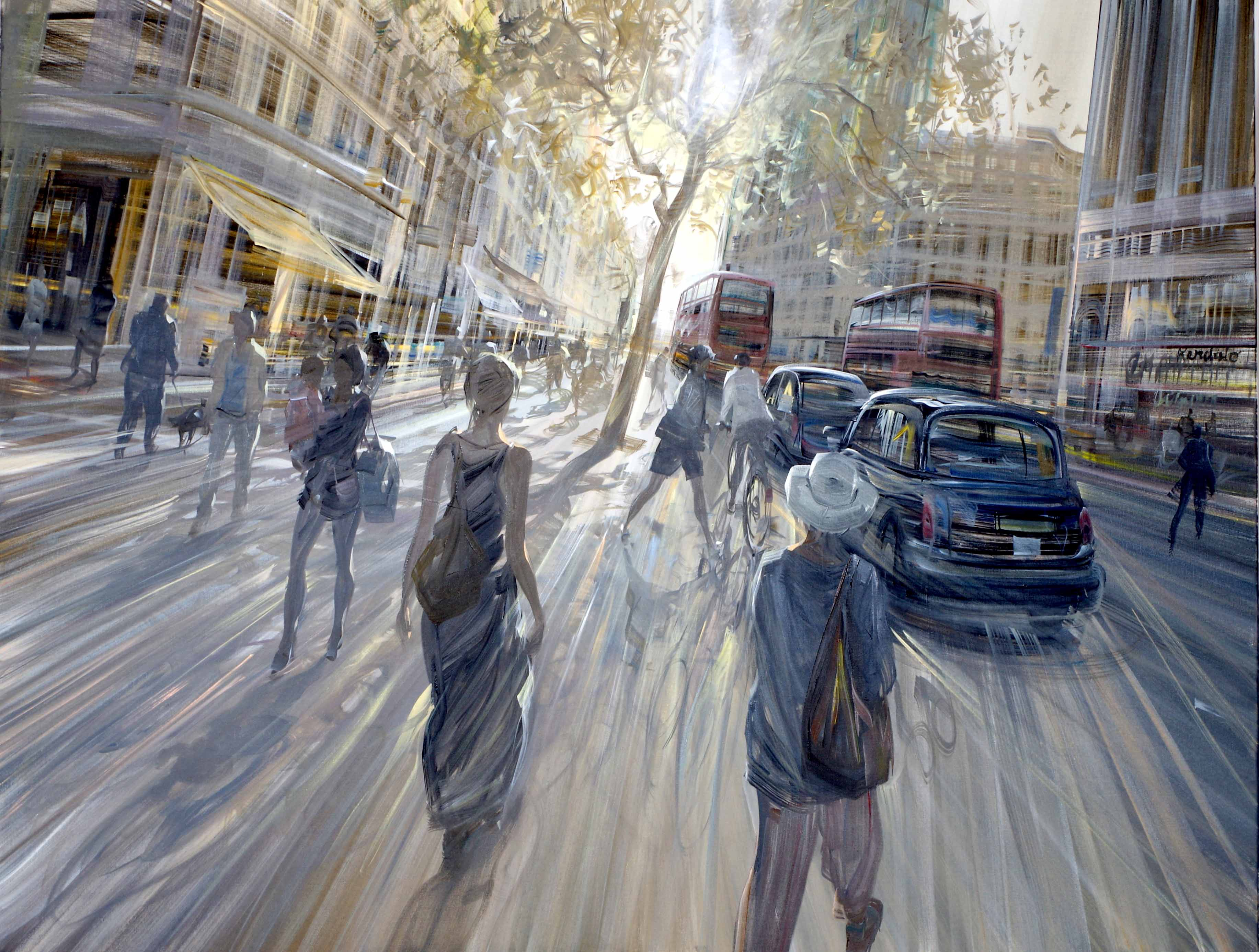 kerdalo artiste peinture oxford street londres