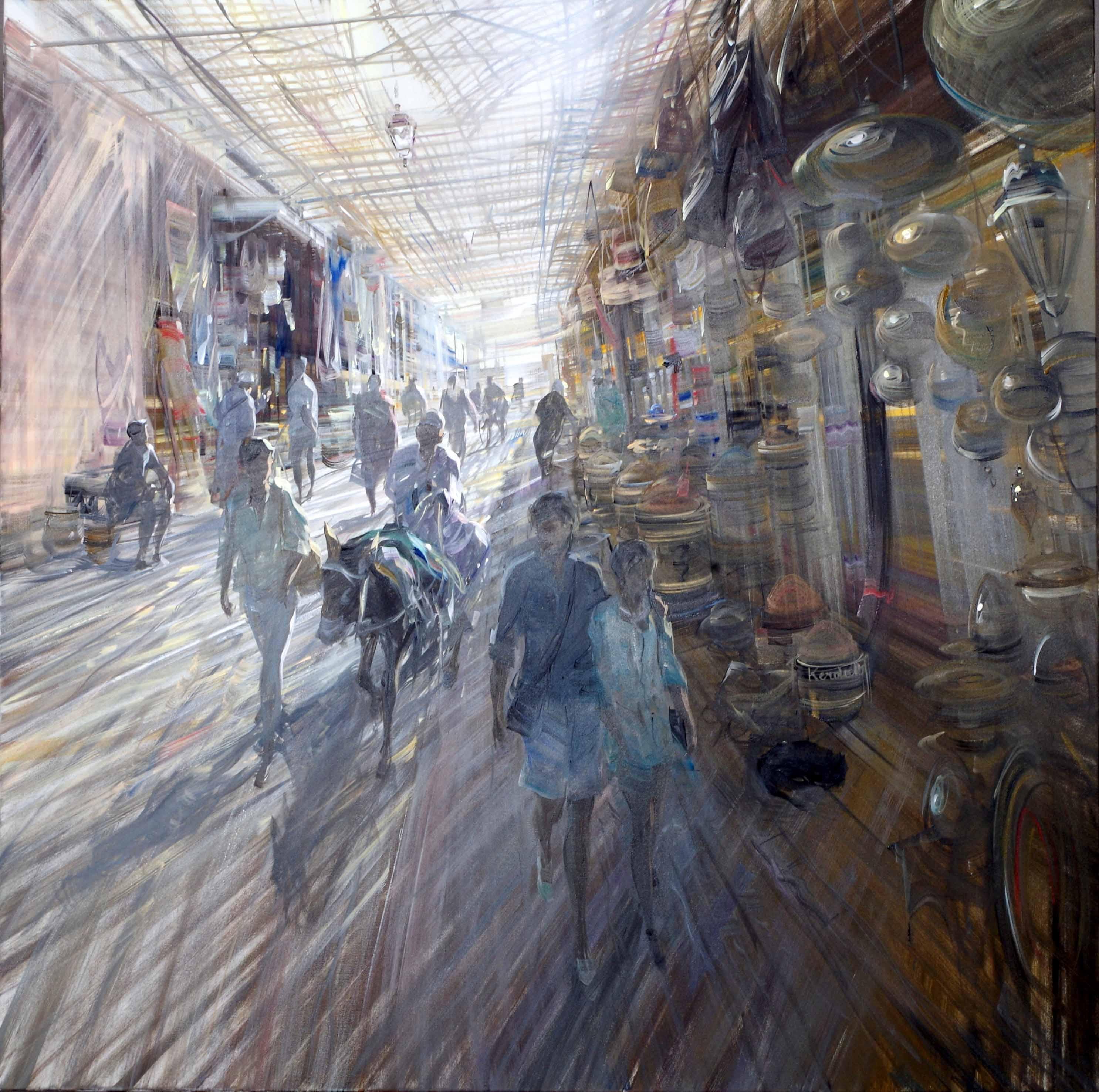 kerdalo artiste peinture marrakech le souk