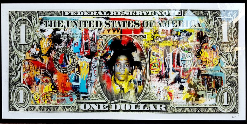 aaron-artiste-icone-dollar-basquiat-sculpture