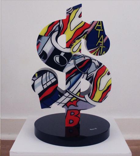 aaron-artiste-icone-dollar-sculpture