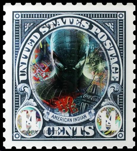 aaron-artiste-icone-dollar-sculpture-spiderman