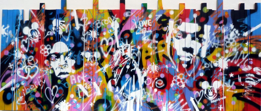 moga-artiste-bombe-aérosol-palissade-happy
