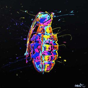 flow-artiste-dripping-toile-grenade
