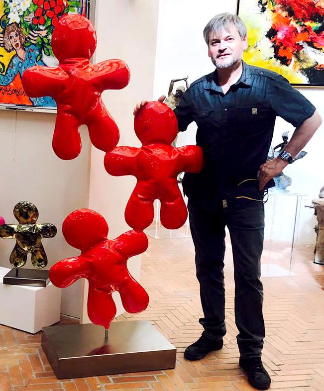 henri iglesis artiste sculpteur tole soufflée