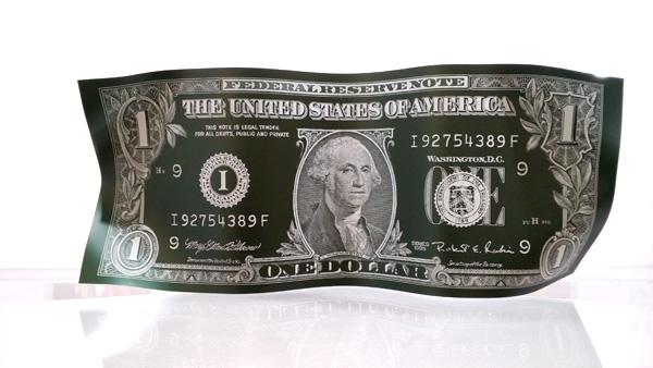 karl lagasse one dollar sculpture