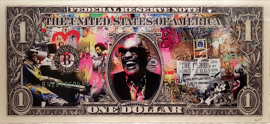 aaron-artiste-icone-dollar-sculpture-ray-charles