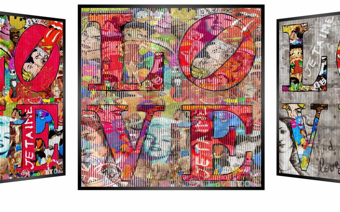 Exceptional exhibition PATRICK RUBINSTEIN  KINETIC POP ART