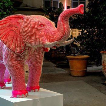 maniez elephant resine silicone