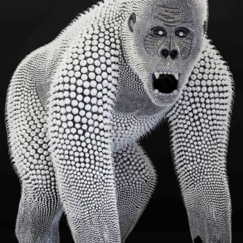 Eddy-Maniez-sculpture-silicone-king-kong