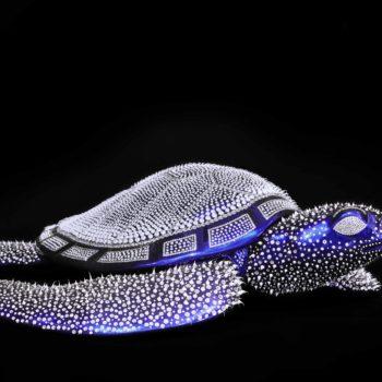 Eddy-Maniez-sculpture-silicone-tortue